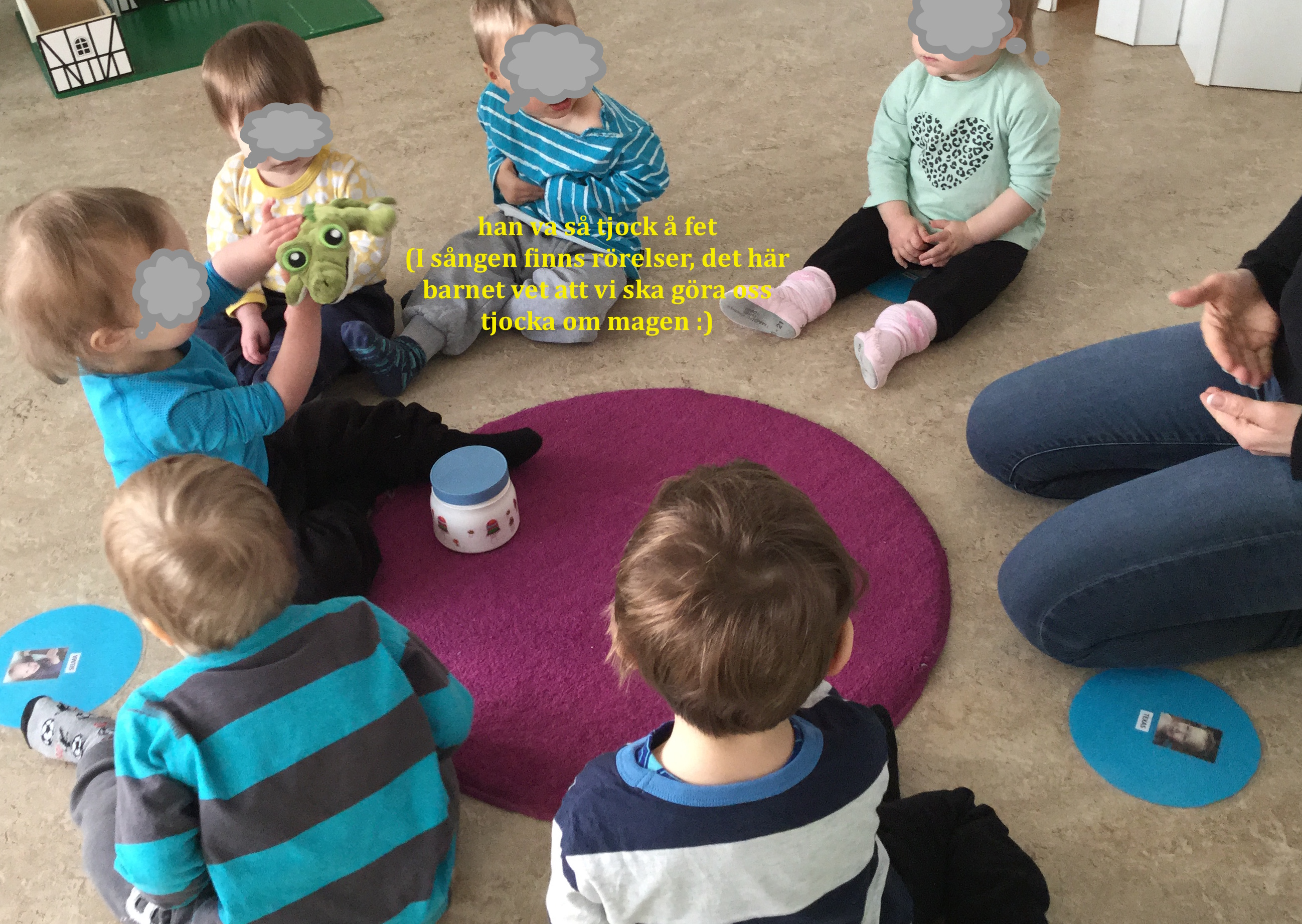 samling förskola språk